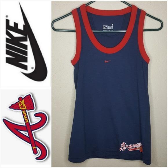 Nike Tops - 4/$25 NIKE Braves Baseball Tank Top Shirt Tee K